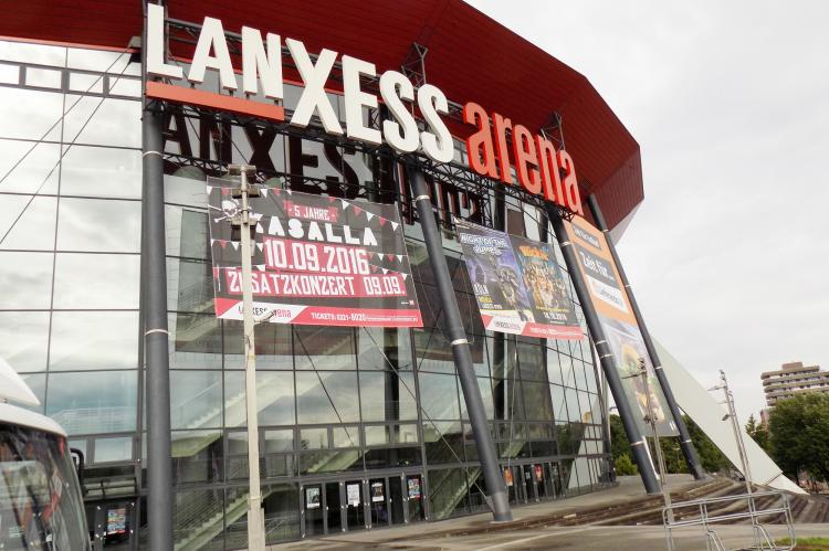 The Lanxessarena cologne